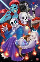 Undertale by TyrineCarver