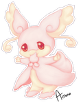 Mega Audino by Airenu-ish
