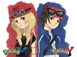 Pokemon X and Y Trainers by StarfireEspo
