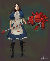 Alice Madness Returns by Faidali