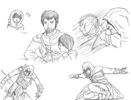 Altair sketches by Noted451