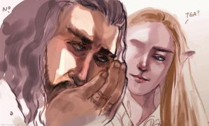 Thorin's worryings by Rosalind-WT