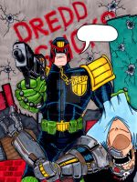 Judge Dredd by TheYuanTwins