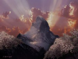 Spring in The Matternhorn by AprilLight