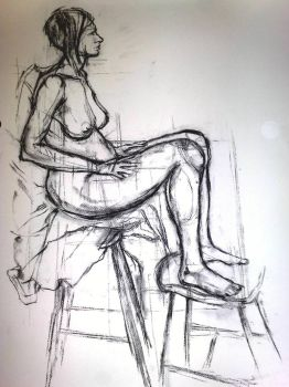 Life Drawing 2 by Lilac-Roller
