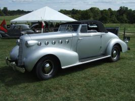 1935 LaSalle Series 50 Convertible Coupe by Aya-Wavedancer