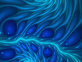 Current - Fractal Art by CMWVisualArts