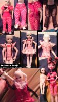 Dollmore Banji in Monster High clothes by tirsden