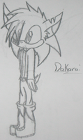 Dakarai the hedgehog by ChibiChibiWoofWoof