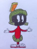 Here's Marvin by nintendolover2010