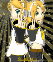 ::..Len and Rin:4days.:: by NyuNyuPuppet