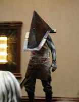 Pyramid Head cosplay by peachiekeenie