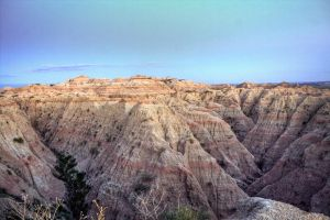 Badlands National Park - HDR by aeroartist