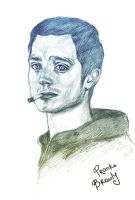 Elijah Wood by freak-sheep