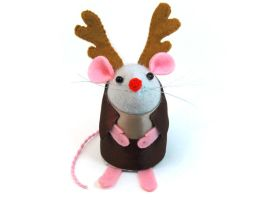 Rudolph Mouse by The-House-of-Mouse