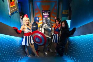 The Avengers Group Marvel Event by indyjones78