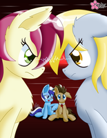 Bizarre Love Triangle by CloudDG