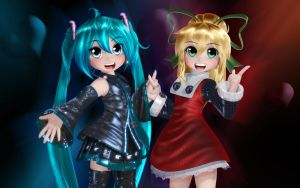 Miku and Roll by Primantis