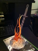 Dark Souls Bonfire Papercraft by Orion1189