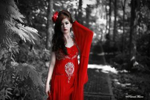 Red Lady 1 by patrickmarco
