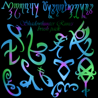 Shadowhunter RUNES Brush Pack by ReachForTheStarfish