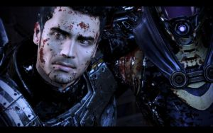 ME3 Don't Leave Me - Kaidan by chicksaw2002
