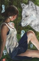 Princess Mononoke by Asidpk