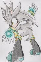 Silver the Hedgehog by trana-girl426