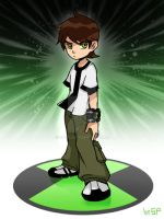 Ben10-original ben by sp415