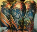 Space the tattoo by Phedre1985