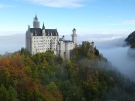 Bavaria stock Neuschwanstein by photodash