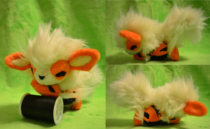 Commission: Arcanine by CoffeeCupPup