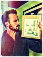 Aaron Paul - BREAKING BAD by Doctor-Pencil