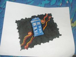 Tardis/Regeneration by Mickxbeth2012
