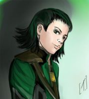 green Loki by Kleim