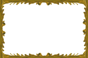 Gold Frame by magicsart