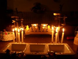 Candlelight by Gell-pen
