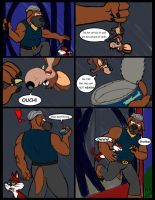 Comic commission: Chow Hound The Untold Story 4 by CaseyLJones