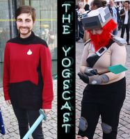 Yogscast Cosplay - The Heroes by RatherPeculiar