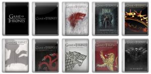 Game of Thrones Folder Icons by Ms-Marvel-Avenger