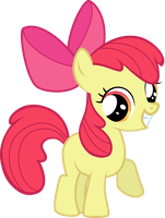 Happy Apple Bloom by Snicketbar