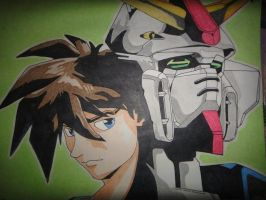 Gundam wing by julius17