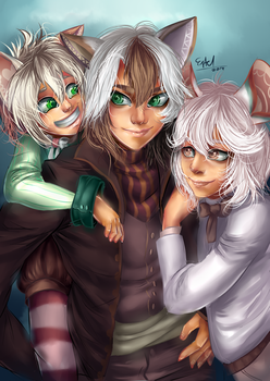 Family photo by Estelmistt