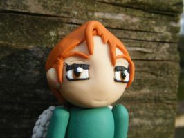 Ingrid from Subsapien Polymer Clay Chibi (Close) by LadyElasa