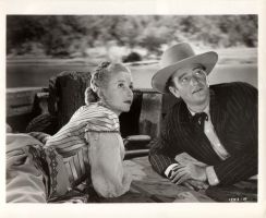 Vera Ralston and the Duke by slr1238