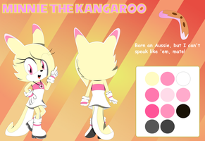Minnie The Kangaroo Reference/Bio by DefectiveStudios