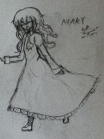 Mary From game Ib by Taiyou67