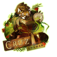 EF 21 Badge - Lv. 45 Shaman by CruzRobin