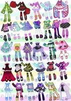 SOLD-OutfitAdoptables by Guppie-Adopts