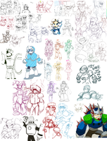 UPLOAD ALL THE DUMPS--THIS ONE IS MEGAMAN by Nyaph